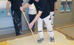 SIC hat einen Workshop auf PANDOMO Fabrik Ardex in Österreich (Saturn Invest Constructions)