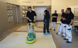 SIC passed a training PANDOMO on the factory Ardex in Austria (Saturn Invest Constructions)