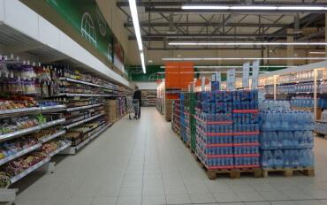 SIC завершил реконструкцию коммерческих полов в гипермаркете с керамогранитной плиткой Argelith