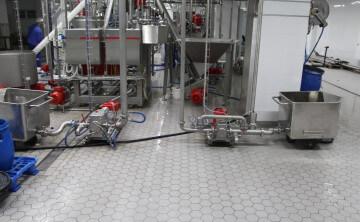 Кислотостойкие полы. Химически стойкие полы. Кислотоупорные промышленные полы.
