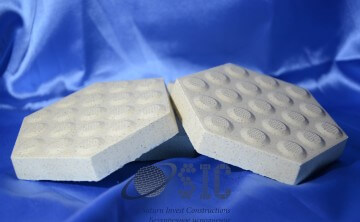 Противоскользящие поверхности промышленной керамической плитки Argelith – R12 и R13