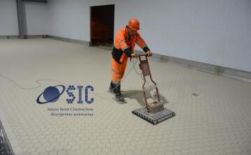 Обновленный ролик SIC по устройству химически стойких промышленных полов SIC для производственных зон пищевых производств